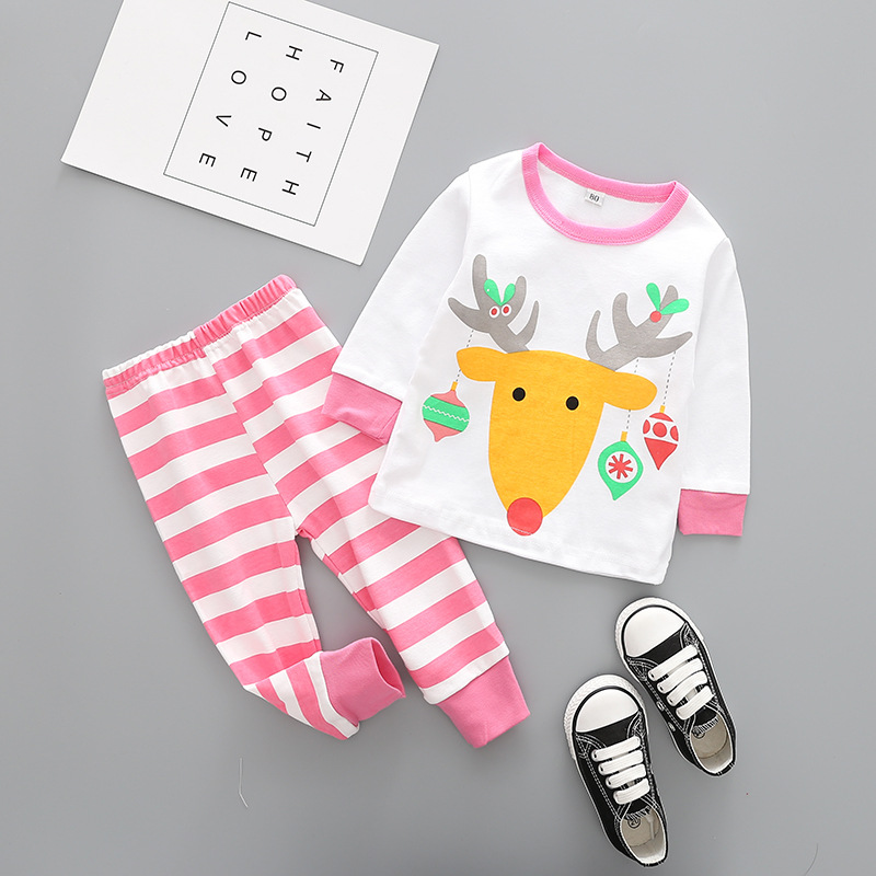 new babies clothing underwear cotton bottoming Christmas pajamas on sale