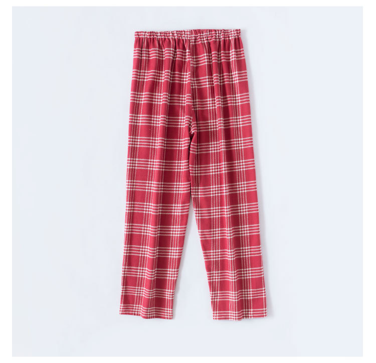 Winter warm no printed suits no side seams cotton couples hick velvet flannel pajamas on sale