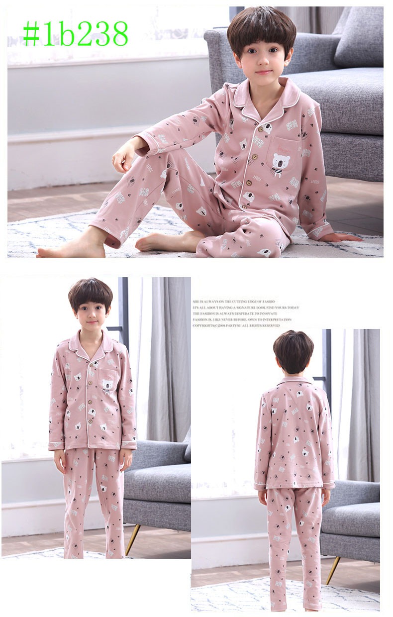 boys pajama sets