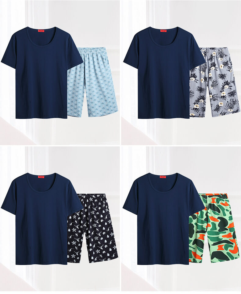 cute men pajama sets