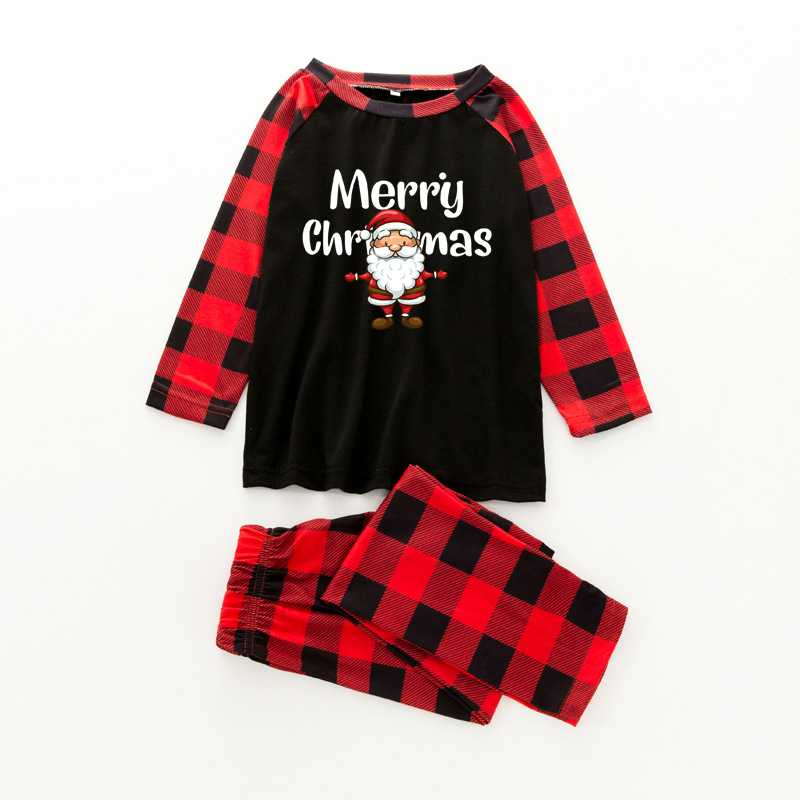 Christmas pajamas family with European and American parent-child wear on sale 10