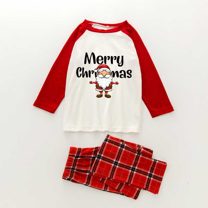 Christmas pajamas family with European and American parent-child wear on sale 13