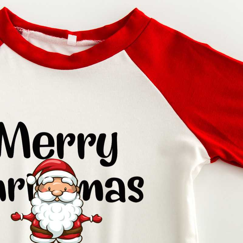 Christmas pajamas family with European and American parent-child wear on sale 2