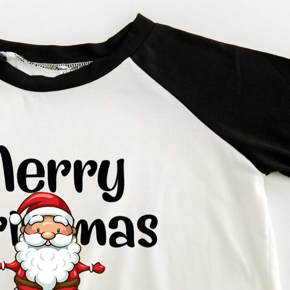 Christmas pajamas family with European and American parent-child wear on sale 4