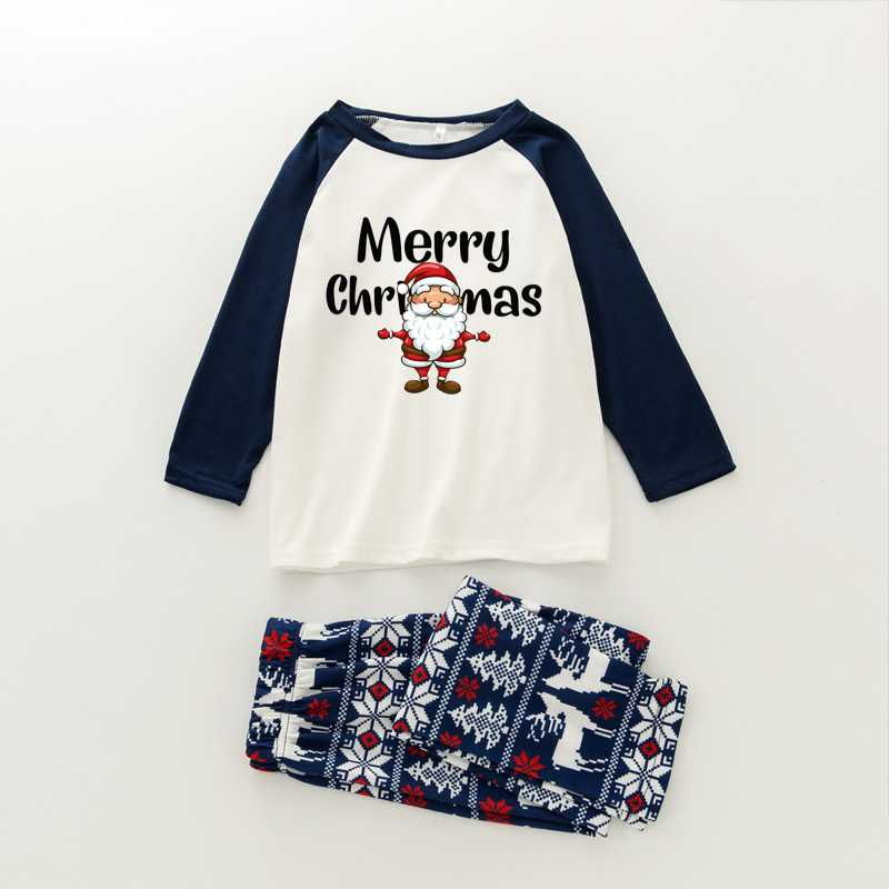 Christmas pajamas family with European and American parent-child wear on sale 5