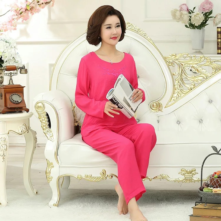 women cotton pajama sets