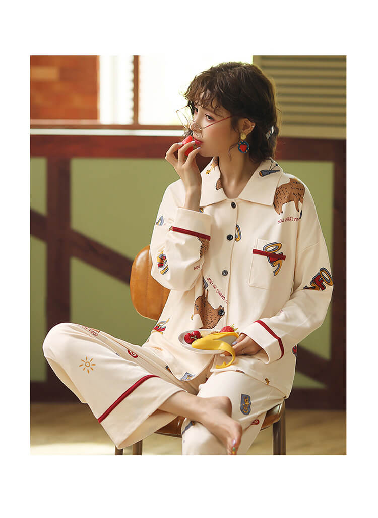 women cotton pajamas