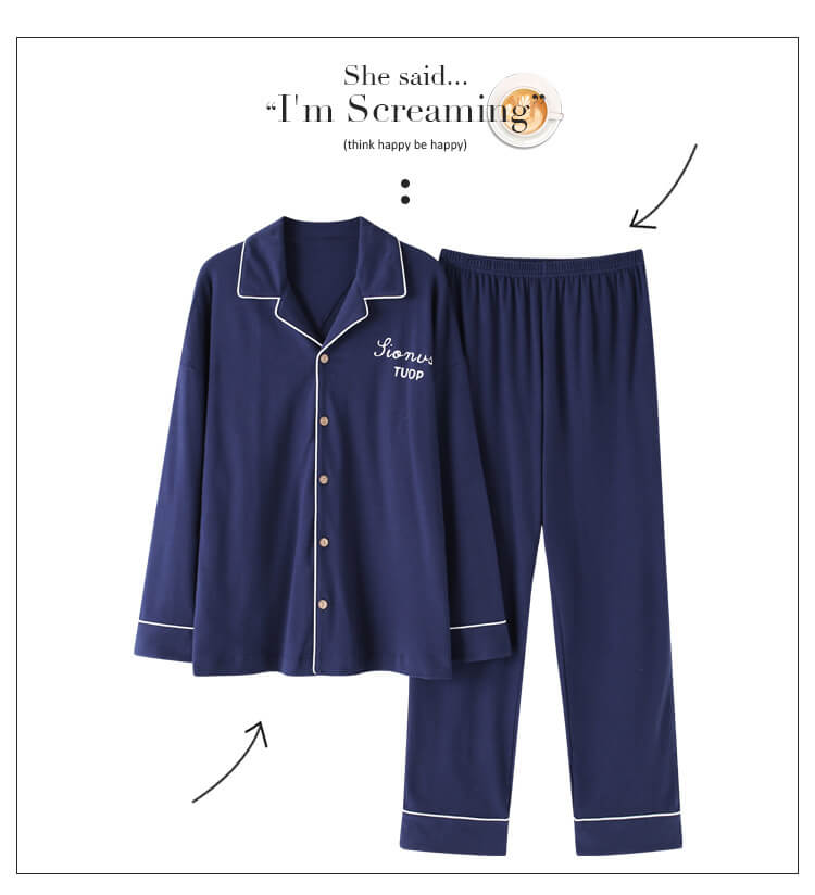men cotton pajamas